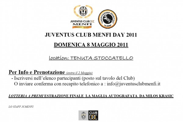 Juventus Club Menfi Day